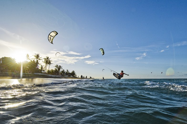Kite surfing Cabarete